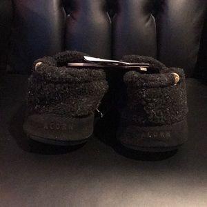 """Acorn Shoes - ACORN MENS MOCS in """"Black Berber"""""""
